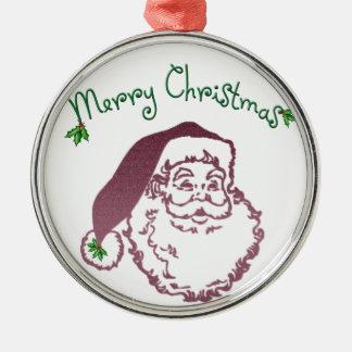 Arte tradicional del navidad del padre ornamentos de navidad
