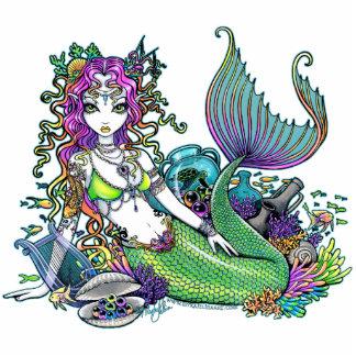 """Arte tropical de la sirena del arco iris de """"Lyra"""" Esculturas Fotograficas"""