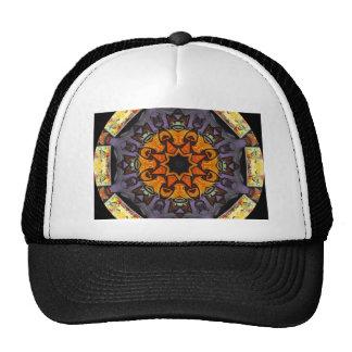 Arte urbano 8 gorras de camionero