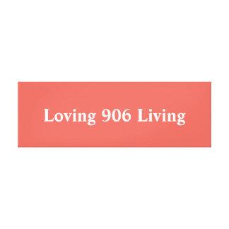 Arte vivo de amor de la pared 906