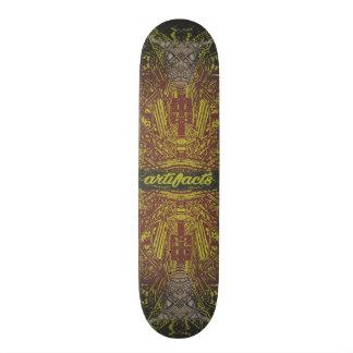 artefactos - concepto 2 de la deidad de la tablas de patinar