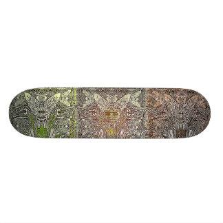 artefactos - cubierta de la prueba de 3 hombres tabla de skate