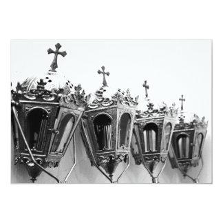 Artefactos religiosos invitación 12,7 x 17,8 cm