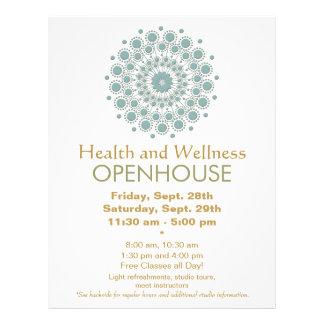 Artes curativos y salud y salud naturales flyer personalizado