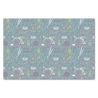 Artes de las nociones de la máquina de coser papel de seda