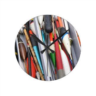 Artes de pesca reloj redondo mediano