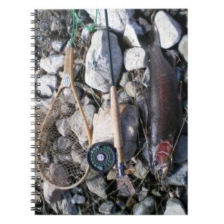 Artes de pesca y pescados en orilla libro de apuntes