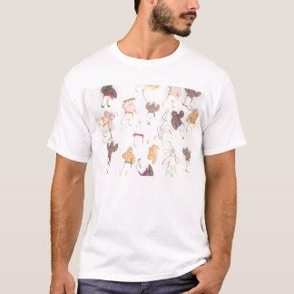 artes del ginga del capoeira de la camisa