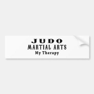 Artes marciales del judo mi terapia pegatina para coche