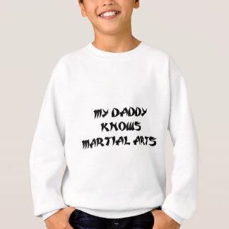Artes marciales del papá sudadera