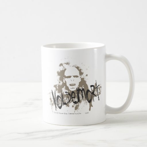 Artes oscuros de Voldemort gráficos Taza De Café