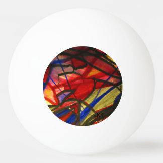 Artes visuales pelota de ping pong
