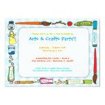 Artes y invitación del fiesta de los artes