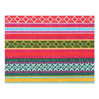 Artesanales de Diseño Aborigen postal 'Texturas