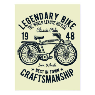 Artesanía legendaria de la bici de la bicicleta postal