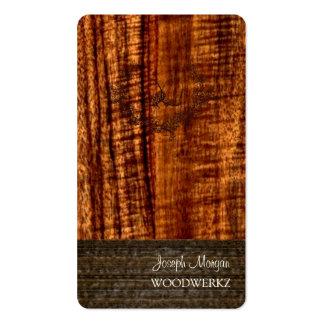 Artesanías en madera de PixDezines, solando Tarjetas De Visita