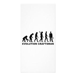 Artesano de la evolución tarjetas fotográficas personalizadas