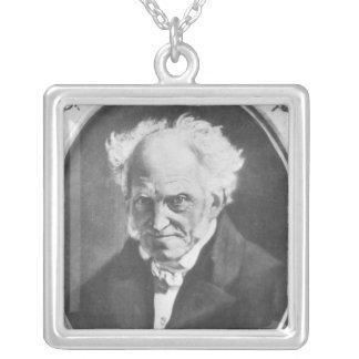 Arthur Schopenhauer Collar Plateado