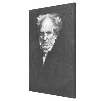 Arthur Schopenhauer Impresión En Lienzo Estirada