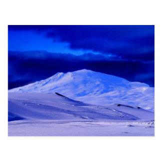 Ártico del paisaje postal