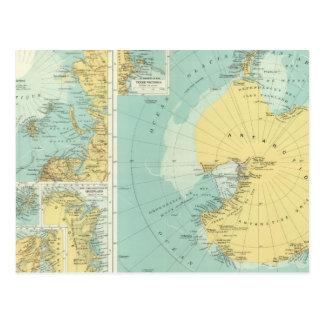 Ártico, la Antártida Postal