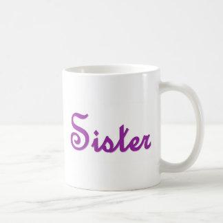 Artículo de encargo de letra adornado del regalo d tazas de café