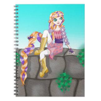 Artículos de Rapunzel Libro De Apuntes Con Espiral
