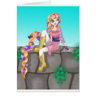 Artículos de Rapunzel Tarjeta De Felicitación