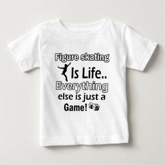 Artículos del regalo del patinaje artístico camiseta de bebé