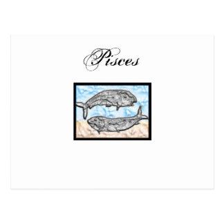 Artículos del zodiaco de Piscis Postal