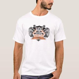 artillería de campaña de la pista n camiseta