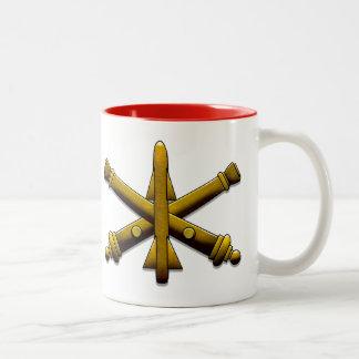 Artillería Drinkware de la defensa aérea Taza De Café De Dos Colores