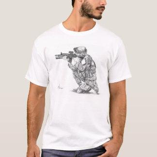 artillero de máquina camiseta