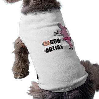 Artista de las estafas (de los vagos) ropa de perros