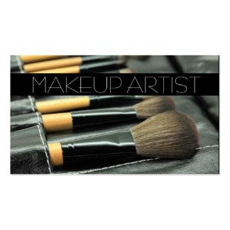 Artista de maquillaje, Cosmetologist, belleza, sal Plantillas De Tarjeta De Negocio