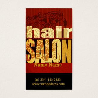 Artista de maquillaje realista del estilista del tarjeta de negocios