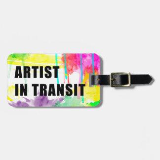 Artista en tránsito - etiqueta creativa perfecta