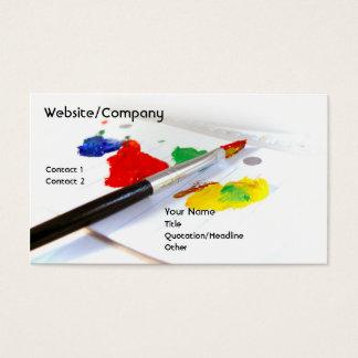 Artista inc. tarjeta de negocios
