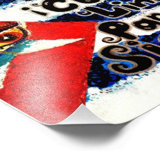 Artista V.Sisk de la bandera de Cubita Linda Para Fotos