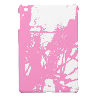 Artistic pink ink texture