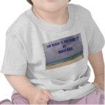 Aruba, la playa es el lugar a ser. Bebé de la play Camiseta