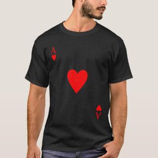 As de la camiseta de los corazones