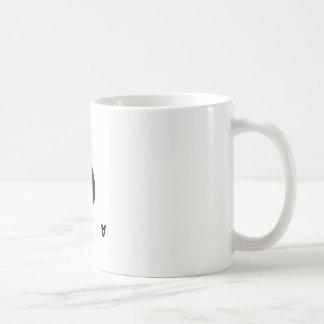 As de la taza de café de las espadas