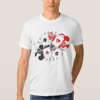 As del vintage camisetas