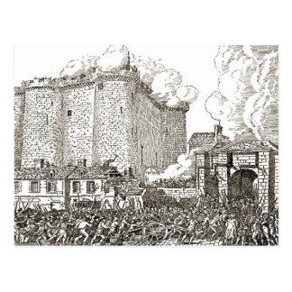 Asalto del Bastille, 1900, París Postales