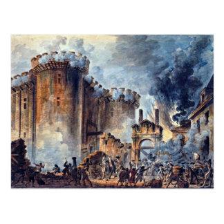 Asalto del Bastille, 1900, París Tarjeta Postal