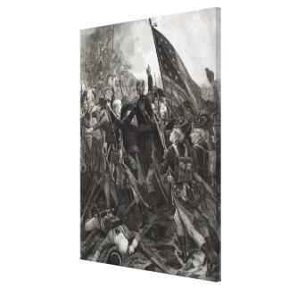 Asalto del punto pedregoso, julio de 1779 lona estirada galerias
