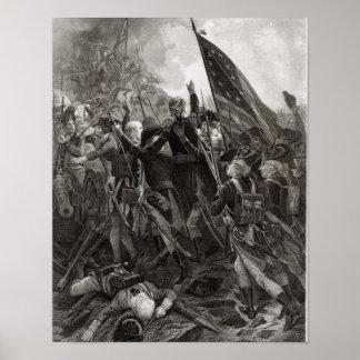Asalto del punto pedregoso, julio de 1779 póster