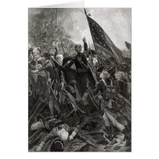 Asalto del punto pedregoso, julio de 1779 tarjeta de felicitación