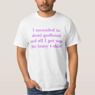 Ascendí al demi-godhood, y todo lo que conseguí camiseta